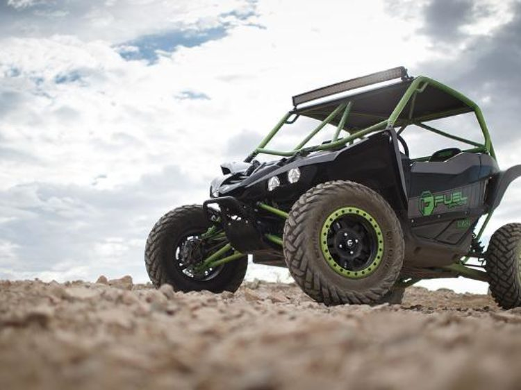 Azna D557 UTV Matte Black w Antracite Ring